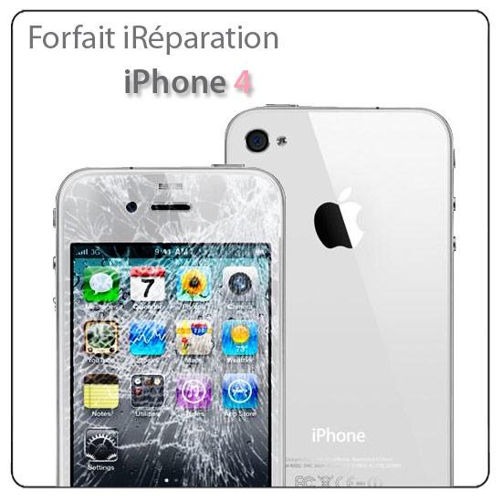 Reparation ecran iphone 4 ain point phone for Photo ecran iphone 4