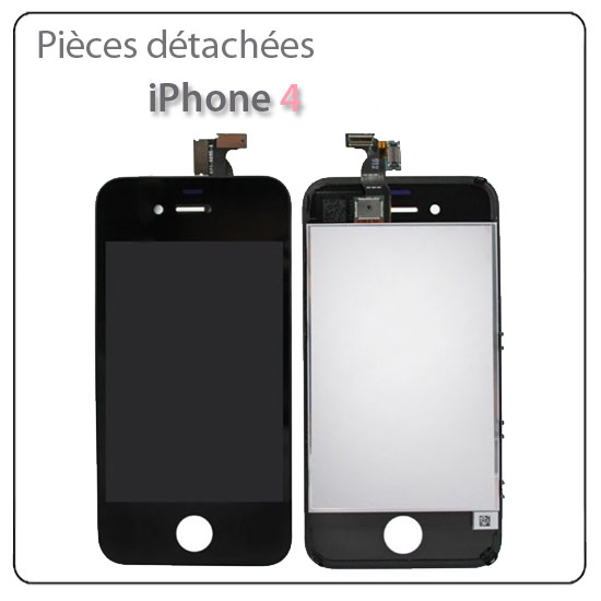 Ecran lcd vitre tactile sans montage iphone 4 ain for Ecran montage video